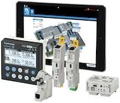 Industrie Energie Monitoring Zähler und Auswertung