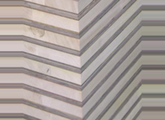 Treppenstufenplatten schichtverleimt