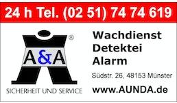 Detektei: A & A Sicherheit und Service ®