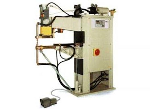 Stationäre Punkt- und Buckelschweissmaschinen in Einphasen-, Dreiphasen- und Mittelfrequenz-Ausführung