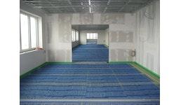 BLUEMATs als Fußbodenheizung