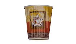 Doppelwandiger Kaffeebecher aus Pappe/Heißgetränkebecher/Coffee to go Becher