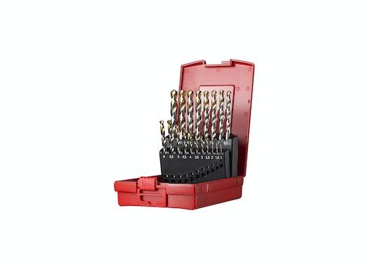 Dormer A095 Spiralbohrer Set 1,0-10,0mm x 0,5mm 19 teilig DIN338