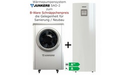 Wärmepumpe Junkers Supraeco SAO 80-2 (8 kW modulierende Luftwärmepumpe)