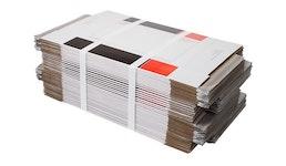 Plano Kartonage banderolieren