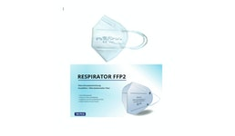 FFP2 Maske  mit CE2163 EN149 (DEUTSCHER Verpackung & Gebrauchsanleitung)