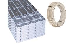 HoWaTech DRY Warmwasser Fußbodenheizung Paket mit oder ohne Regelung