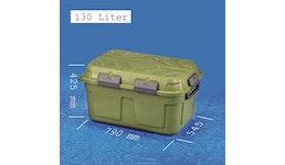 JUMBO-DRY-BOX 130 Liter, grün und wasserdicht