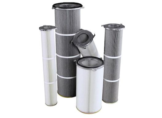 Filterpatrone mit JET-Verschluss ( Filter, allgemein , Filterpatronen , Luftfilter zu Staubabscheidung )