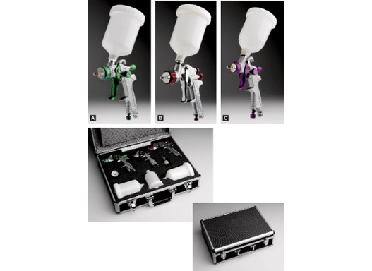 Pistolenkit im Koffer