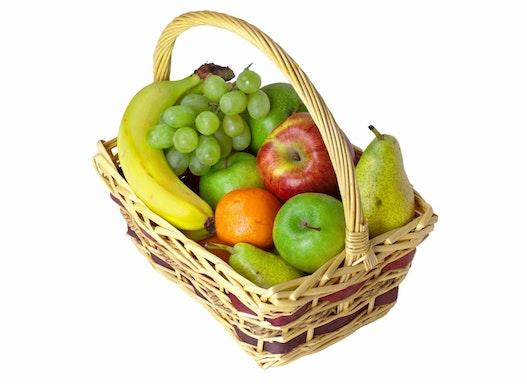 Obstkorb TEAM - 6,5 Kg Obst der Saison - für 9-10 Mitarbeiter