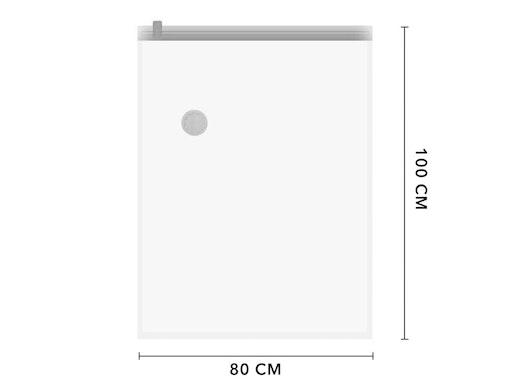Vakuumbeutel 80 x 100 cm mit Staubsauger Anschluss