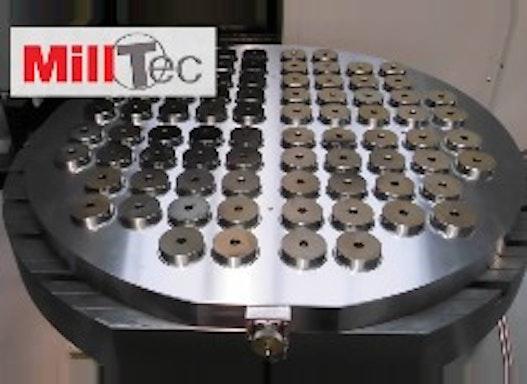 MillTec Round Magnetspannplatte
