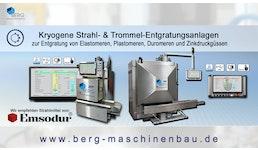 kryogene Strahlentgratungsanlagen / cryogenic deflashing machines / grenailleuses d'ébavurage cryogénique