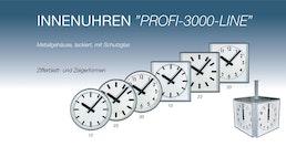 """Innenuhren """"Profi-3000-Line"""""""