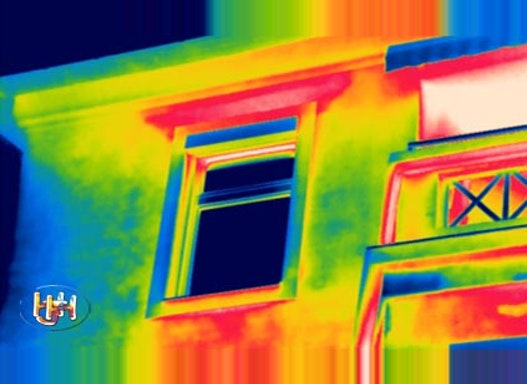 Gebäudethermografie und Leckage-Ortung