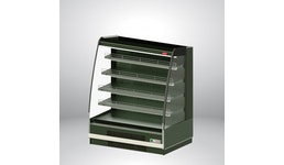 Wandkühlvitrine PARIS 1250 mit integriertem Aggregat