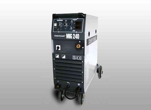 Celortronic® MIG 240 (400 V), MIG/MAG Kompakt-Schutzgasschweissmaschine  Artikel-Nr.: 01811124