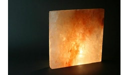 Kristallsalz in Ziegelsteinform   20x20x2,5cm (LxBxH) alle Seiten glatt