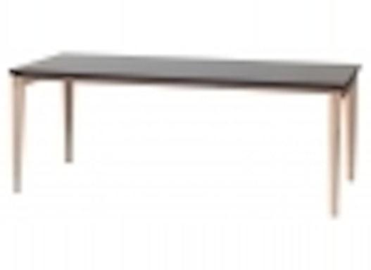 Objekttisch / Holztisch / Rechtecktisch mit Zarge Modell Stockholm