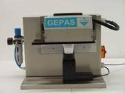 Verschließmaschine für Kunststofftuben - Modell TSM1 - GEPAS