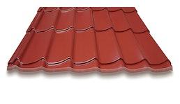 Pfannenprofil 0,50mm Dach RAL 8012 und RAL 9005 direkt am Lager verfügbar