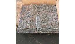 Granit Liegesteinbücher in verschiedenen Formen, Farben, Beschriftung und Größen