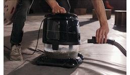 Staubsauger mit Wasserfilter, auch für Allergiker (Luft- und Raumreinigungssystem)