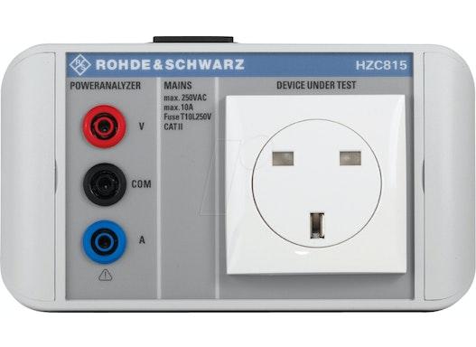 HZC 815 UK - Netzadapter für HMC8015-Serie, UK-Stecker