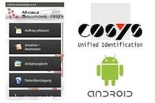 Auftragsbezogene Materialnachbestellungen mit COSYS Online Order Android