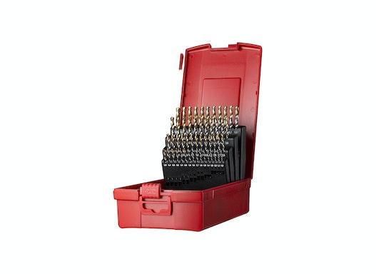 Dormer A095 Spiralbohrer Set 1,0-6,0mmx0,1mm 51 teilig DIN338 A002