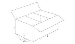 Wellpappe-Faltkarton Verpackung