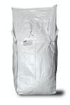 asup Big Bag 90 x 90 x 110 cm, Schürzendeckel, SWL 1.250 kg