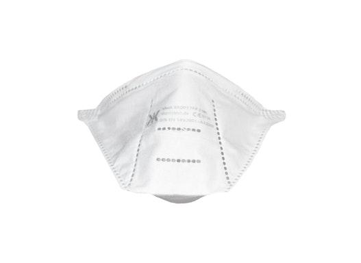 FFP2 Atemschutzmaske ohne Ventil, mit Kopfband, CE-zertifiziert