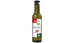 Extra natives Olivenöl mit Chili, Bio