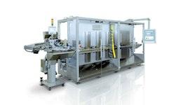 SI100 Widmann Maschine zur Einschweißung von Ausgießern mittels Ultraschalltechnik