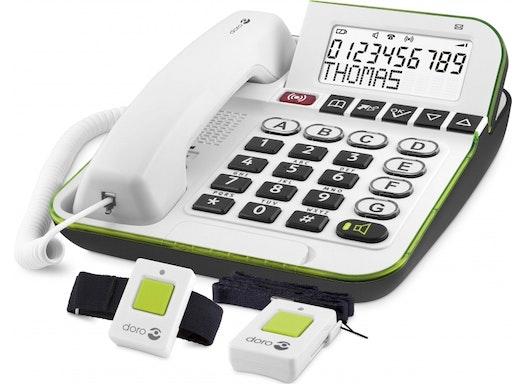 IVS Industrievertret. Großtastentelefon doro Secure350