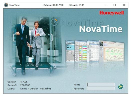 NovaTime Zeiterfassung