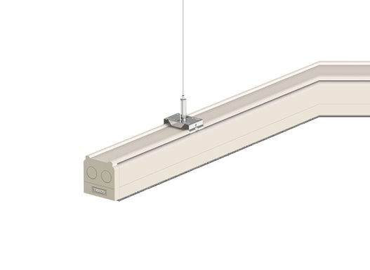 LEDAXO LED-Lichtband-Komplettsystem LS-06 für Einzel- oder Reihenmontage