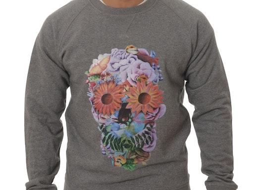 Sweatshirts mit Digital-Direkt Druck (Direct To Garment Print - DTG)