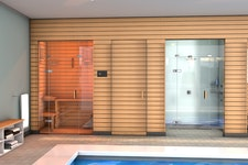 megla® therma Sauna Glasbeschläge