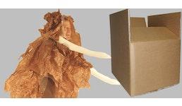 Starkwellkisten,  Exportkarton 3-wellig Schwerwellpappe CAA-Welle