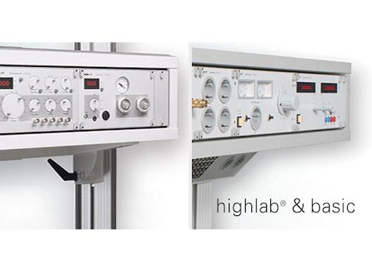 Geräteprogramm highlab® und basic von erfi