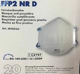 FFP2 Halbschalen Schutzmaske / vorgeformt
