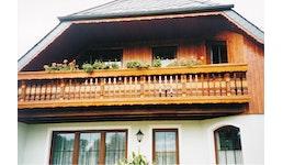 Balkone - Modell Erzgebirge mit Zopfkonsolen