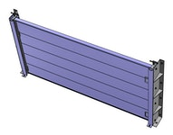 Hochwasserschutztüren - BL/HDS: Hochwasserschutz Dammbalken-System - Aluminiumprofil 150 x 100 x 4 mm