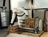 Abfallentsorgung Asbestzementplatten