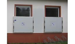 Hochwasserschutz: Fensterschott
