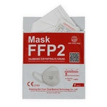 FQ66- Feinstaubmaske FFP2 ohne Ventil, gefaltet mit Ohrenschlaufe