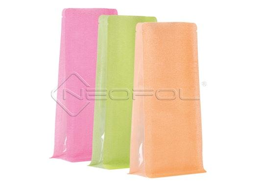 BOXpack® Flachbodenbeutel Reispapier/PET/PE